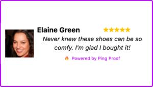 Ping Proof Testimonial
