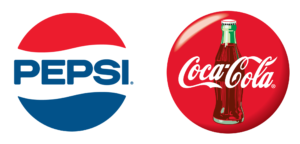 Strong branding from both Pepsi and Coca-Cola