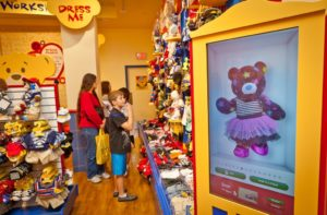 Build-A-Bear Workshop provides a unique brand experience for each customer