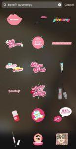 Benefit Cosmetics GIFs