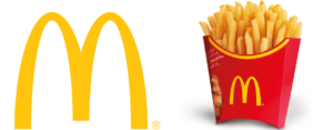 McDonald's has a distinct brand identity that is easily recognizable